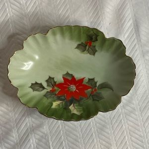 Vintage Lefton China limited edition candy dish.